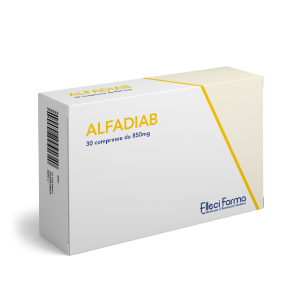 Alfadiab 30 Compresse 850 mg